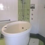 Ensuite with bath
