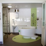 Full view of ensuite from birth suite