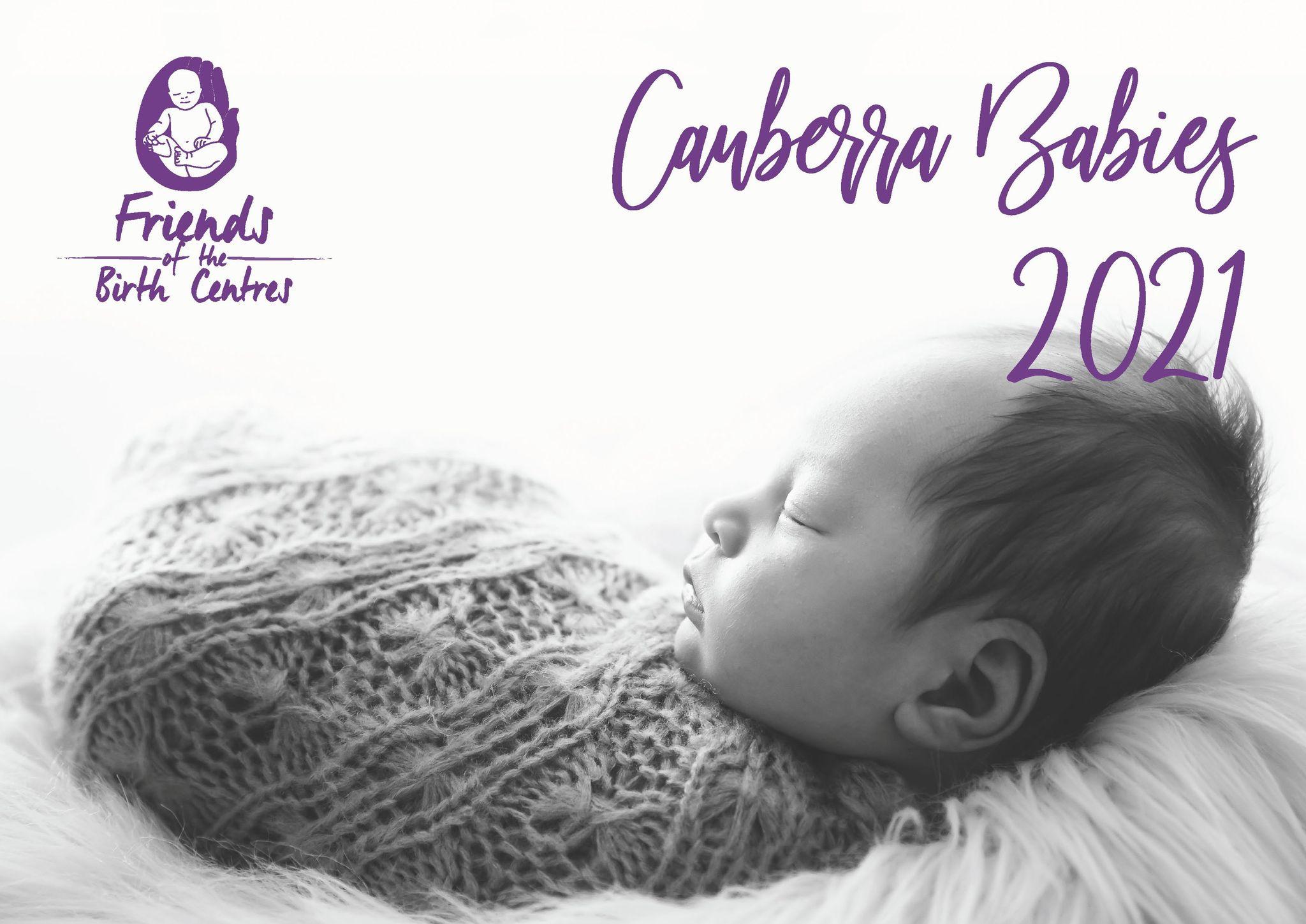 Cover of 2021 CBR Babies Calendar